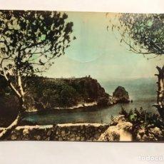 Postales: JÁVEA (ALICANTE) POSTAL COLOREADA NO.3, RINCONADA Y PUNTA AMBOLO. SIN IDENTIFICAR EDITOR (A.1958). Lote 148063888