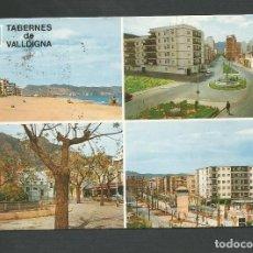 Postales: POSTAL CIRCULADA - COSTA DEL AZAHAR - TABERNES DE VALLDIGNA V7219M - EDITA CYP. Lote 148143478