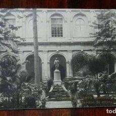 Postales: FOTO POSTAL DE ORIHUELA, ALICANTE. COLEGIO SANTO DOMINGO. S. J. ORIHUELA, JARDIN DE ENTRADA. ESCRITA. Lote 148163666