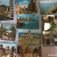 Postales: LOTE DE 10 POSTALES DE LA COMUNIDAD DE VALENCIA AÑOS 60 . Lote 148167034