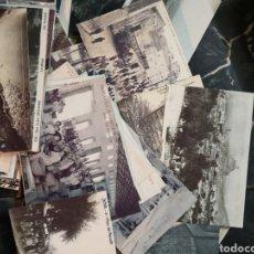 Postales: LOTE DE 76 POSTALES, FOTOGRAFIAS ANTIGUAS, HISTORIA PROVINCIA ALICANTE. INFORMACIÓN. Lote 148216588