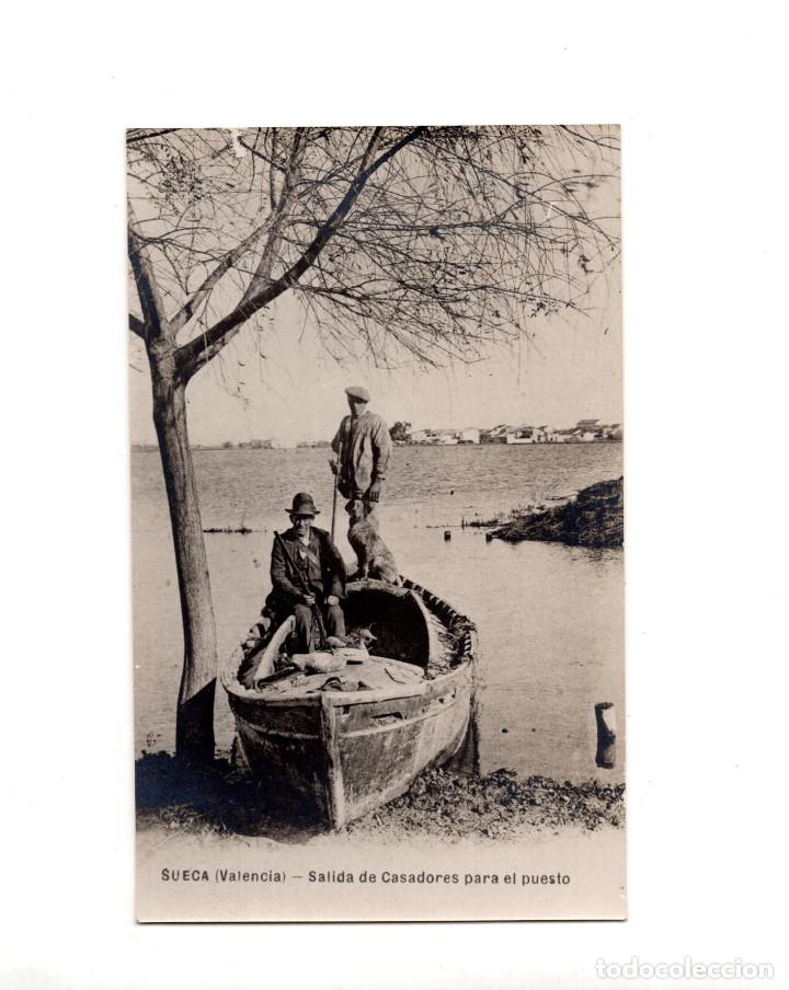SUECA.(VALENCIA9.- SALIDA DE CASADORES PARA EL PUESTO (Postales - España - Comunidad Valenciana Antigua (hasta 1939))