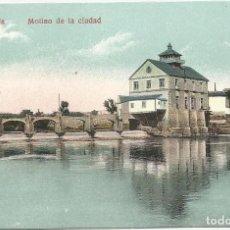 Postales: ANTIGUA POSTAL AÑOS 20 ORIHUELA- MOLINO DE LA CIUDAD-SIN CIRCULAR-COLOREADA. Lote 148618174