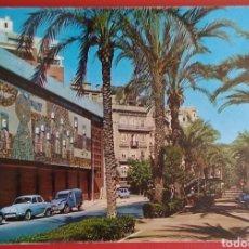 Postales: POSTAL VALENCIA SERIE 19 N 190 AVENIDA DE JOSÉ ANTONIO KOLOR ZERKOWITZ DURA VELASCO ESCRITA AÑOS 60. Lote 149582380