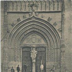Postales: POSTAL DE ORIHUELA-FACHADA DE LA PARROQUIA DE SANTIAGO-UNIÓN POSTAL UNIVERSAL-SIN CIRCULAR-MBC. Lote 150283302