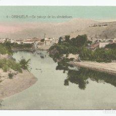 Postales: POSTAL DE ORIHUELA-UN PAISAJE DE LOS ALREDEDORES-EDICIÓN M CLEMARES -COLOREADA-SIN CIRCULAR-. Lote 150458250