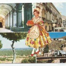 Postales: POSTAL DE ORIHUELA-EDICIONES F.R. LLOPIS-N º 6-CUATRO VISTAS DE LA CIUDAD-1964-SIN CIRCULAR-MBC. Lote 150813550