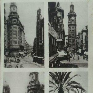 Valencia. Calle Vicente. Avda. Pablo Iglesias. Torre Sta. Caterina. Castillo de Ripalda. Durá
