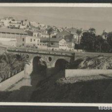 Postales: GANDIA-PUENTE-FOTOGRAFICA-POSTAL ANTIGUA-(56.900). Lote 151022186