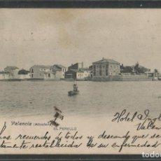Postales: VALENCIA-EL PERELLO-FOT· LACOSTE-REVERSO SIN DIVIDIR-POSTAL ANTIGUA-(56.902). Lote 151022514