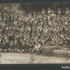 Postais: SANTO DOMINGO ORIHUELA-CONGREGACION INMACULADA AÑO 1916-FOTOGRAFICA-POSTAL ANTIGUA-(56.907). Lote 151023422
