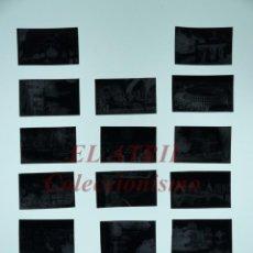 Postales: 17 CLICHES ORIGINALES - VALENCIA - NEGATIVOS EN CELULOIDE - EDICIONES ARRIBAS. Lote 151218438