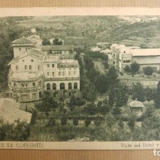 Postales: HERVIDEROS DE COFRENTES, VALENCIA. VISTA DEL HOTEL Y CASINO. Lote 151375186