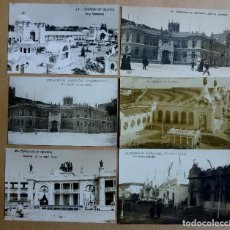 Postales: 6 POSTALES EXPOSICION REGIONAL VALENCIANA, VER FOTOS. Lote 151375462