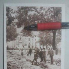Postales: XÁTIVA, VALENCIA - TEMPORAL PLAZA DEL ESPAÑOLETO - FACSÍMIL Nº 9 DE SARTHOU, C.A., 1923 - RAREZA. Lote 151448198