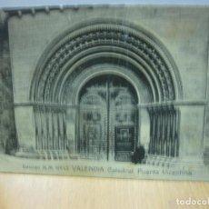 Postales: POSTAL EDICION M.M. Nº 13 VALENCIA. CATEDRAL PUERTA VICENTINA.. Lote 151499454