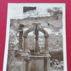 Postales: SEGORBE. CASTELLÓN, CELEBRE POZO DE LA CARTUJA. POSTAL CIRCULADA 1943. MAESTRA NACIONAL TORRE-LLORIS. Lote 151536317