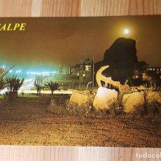 Postales: CALPE Nº 53 PEÑON DE IFACH A LA LUZ DE LA LUNA ED. HNOS. GALIANA. Lote 151565178