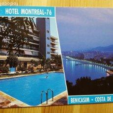 Postales: HOTEL MONTREAL Nº 76 VILLAS DE BENICASIM ED. COMAS ALDEA. Lote 151573038