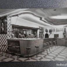 Postales: GANDIÁ VALENCIA HOTEL ERNESTO BAR - RARA POSTAL FOTOGRÁFICA ANTIGUA ED ARRIBAS. Lote 152639506
