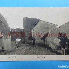 Postales: MORELLA, CASTELLON - PUERTA DEL FORCALL - POSTAL FOTOGRAFICA. Lote 153213730