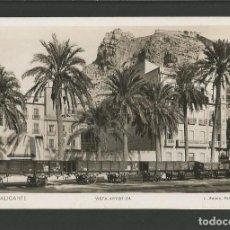 Postales: ALICANTE-FERROCARRIL-FOTOGRAFICA ROISIN-POSTAL ANTIGUA-(57.336). Lote 153237786