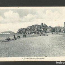 Postales: BENIDORM-PLAYA DE LEVANTE-2-ROISIN-POSTAL ANTIGUA-(57.339). Lote 153238262
