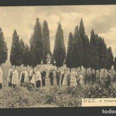Postales: DESIERTO DE LAS PALMAS-PROCESION DE SANTA TERESA-LICOR CARMELITANO-POSTAL ANTIGUA-(57.340). Lote 153238614