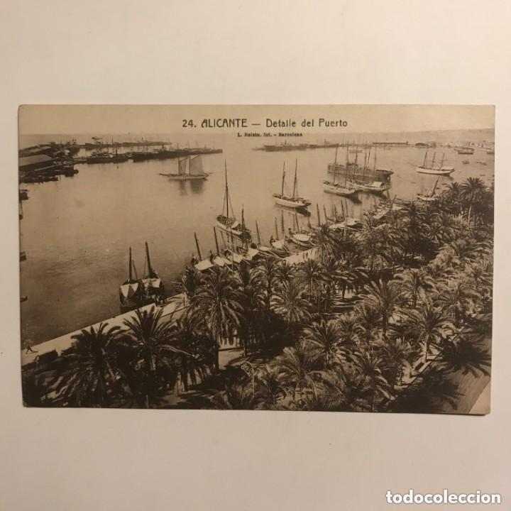 Postales: Alicante. Detalle del puerto - Foto 2 - 149270750