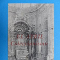 Postales: JATIVA, VALENCIA - ALTAR MAYOR DE LA COLEGIATA. Lote 153796214