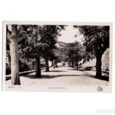 Postales: BUÑOL.(VALENCIA).-PASEO DE BORRUNES. Lote 154044390