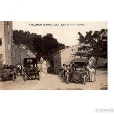 Postales: VALENCIA.- MONASTERIO DE PORTA COELI, SALIDA DE AUTOMÓVILES. POSTAL FOTOGRÁFICA. Lote 154613046