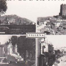 Postais: POSTAL DE VILLENA - ALICANTE. Lote 154930934