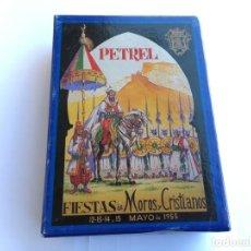 Postales: POSTALES DE PETREL FIESTAS DE MOROS Y CRISTIANOS. Lote 155989330