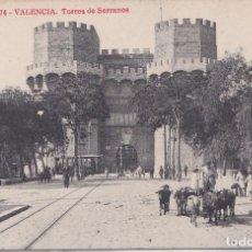 Postales: VALENCIA - TORRES DE SERRANOS. Lote 156447962