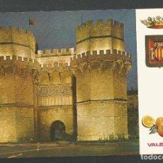 Postales: POSTAL SIN CIRCULAR - VALENCIA 2 - 1 COLECCION DE 25 MODELOS - ESCUDO DE ORO DE LUJO. Lote 156490878