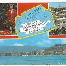 Postales: 9 - CULLERA (VALENCIA).- DIVERSOS ASPECTOS.. Lote 156499610