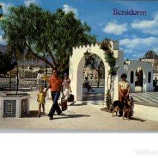 Postales: LOTE DE 4 POSTALES DE BENIDORM. Lote 156509826