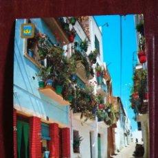 Postales: PEÑISCOLA CASTELLON. CALLE SAN ROQUE. . Lote 156511402