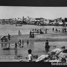 Postales: POSTAL TORREVIEJA ALICANTE PLAYA DEL PUERTO . JUAN CEREZUELA CA AÑO 1960. Lote 156541778