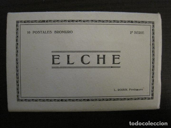 ELCHE-BLOC CON 10 POSTALES FOTOGRAFICAS ANTIGUAS-ROISIN-VER FOTOS-(58.264) (Postales - España - Comunidad Valenciana Antigua (hasta 1939))