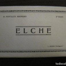 Postales: ELCHE-BLOC CON 10 POSTALES FOTOGRAFICAS ANTIGUAS-ROISIN-VER FOTOS-(58.264). Lote 158444206