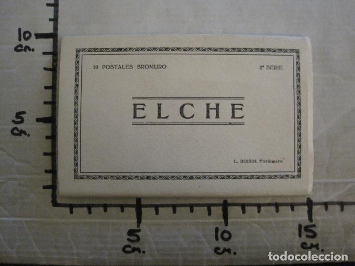 Postales: ELCHE-BLOC CON 10 POSTALES FOTOGRAFICAS ANTIGUAS-ROISIN-VER FOTOS-(58.264) - Foto 10 - 158444206