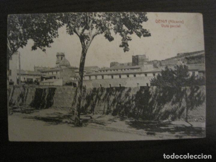 DENIA-VISTA PARCIAL-ED·J.LLORENS-POSTAL ANTIGUA-VER FOTOS-(58.284) (Postales - España - Comunidad Valenciana Antigua (hasta 1939))