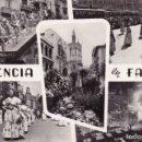 Postales: VALENCIA EN FALLAS (ESCRITA) . Lote 158831606