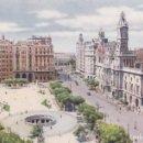 Postales: VALENCIA PLAZA DEL CAUDILLO (ESCRITA) . Lote 158832006