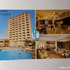 Postales - POSTAL. HOTEL CASTILLA, BENIDORM. POSTALES HNOS GALIANA - 159590746