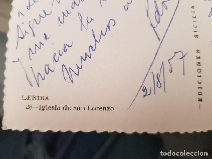 Postales: ANTIGUA POSTAL LLEIDA IGLESIA DE SAN LORENZO LERIDA - Foto 2 - 159624878