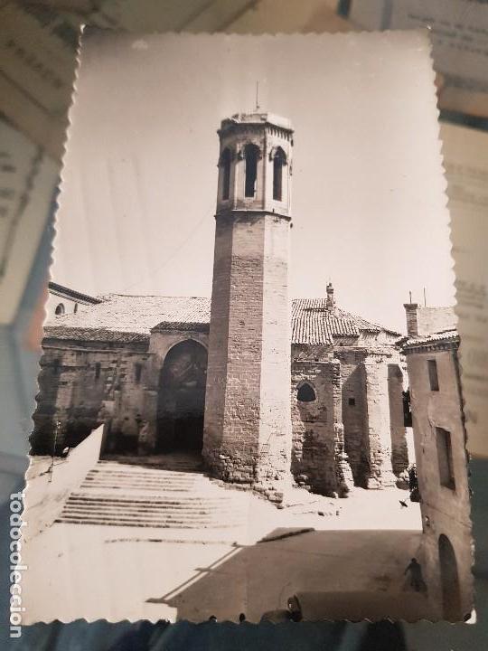 ANTIGUA POSTAL LLEIDA IGLESIA DE SAN LORENZO LERIDA (Postales - España - Comunidad Valenciana Antigua (hasta 1939))