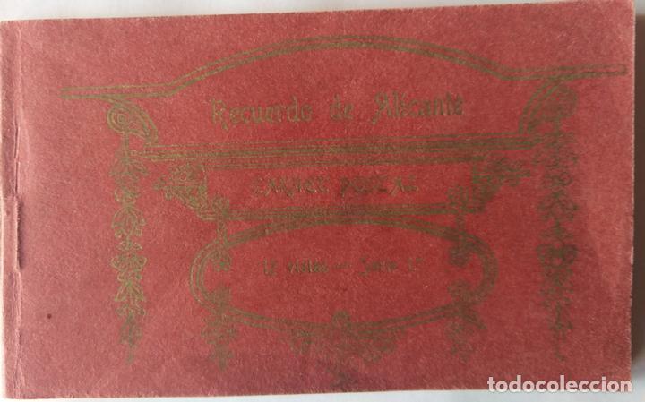 ALICANTE BLOC DE LA CASTAÑERA Y ALVAREZ 11 POSTALES FALTA LA 2 (Postales - España - Comunidad Valenciana Antigua (hasta 1939))